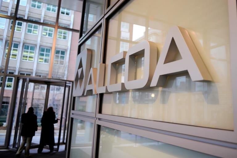 Alcoa second-quarter profit drops on low aluminum prices