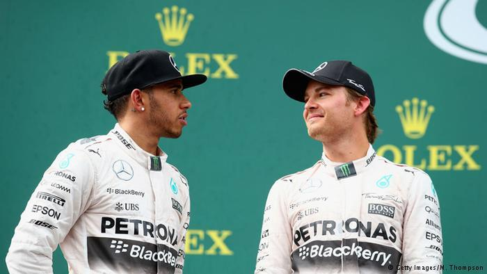 Hamilton cuts gap to Rosberg after German cops penalty