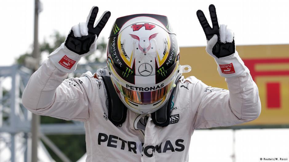 Hamilton takes Monza pole position