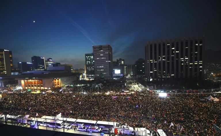 Parliament sets Park's impeachment vote for Friday