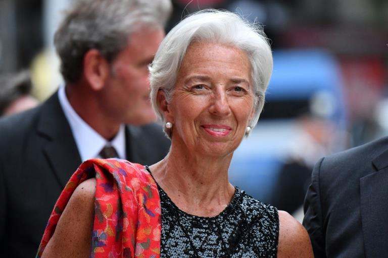 IMF chief urges Eurozone to progress on Greece debt relief package