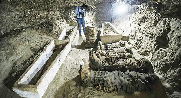 Mummies Discovered in Central Egypt