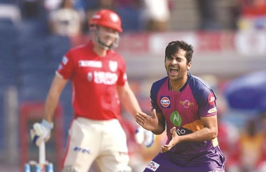 Pune beat Punjab to seal IPL play-off spot